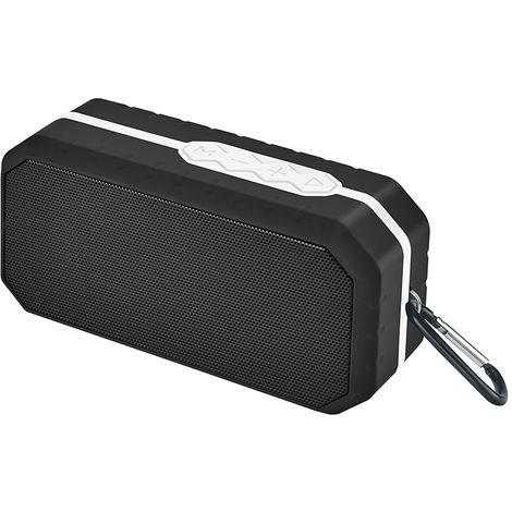 Altavoz Portátil Bluetooth Resistente Al Agua Ipx5 Blanco