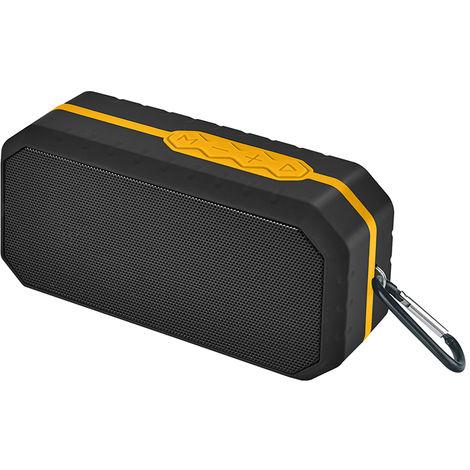 Altavoz Portátil Bluetooth Resistente Al Agua Ipx5 Naranja