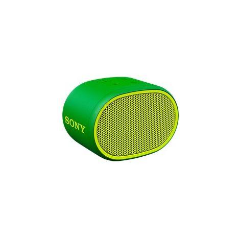 Altavoz sony srsxb01g verde inalambrico extra