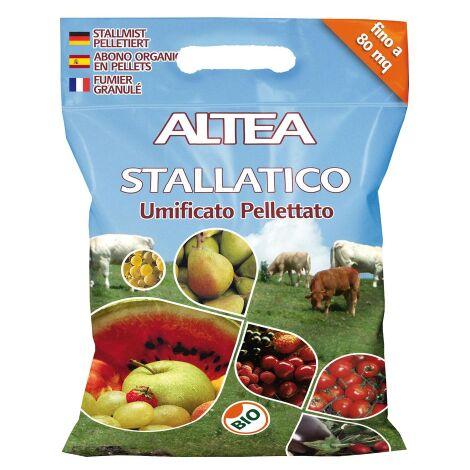 """main image of """"ALTEA STALLATICO 5 KG LETAME BOVINO ED EQUINO UMIFICATO PELLETTATO BIOLOGICO"""""""