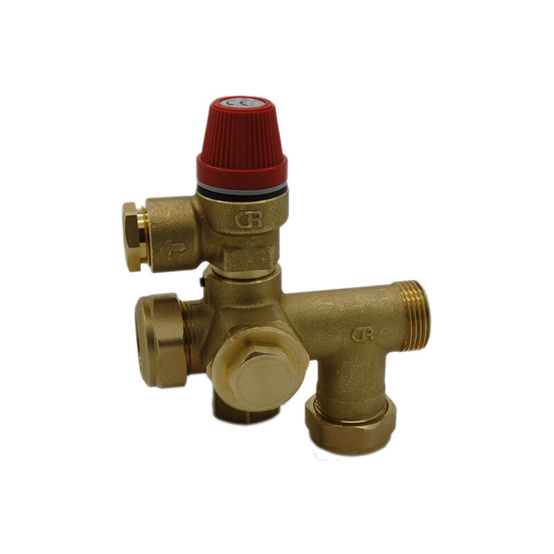 Image of Altecnic - Caleffi 22mm Manifold 300015 and 312 6 Bar Pushfit SRV 312469 - ALTECNIC CALEFFI