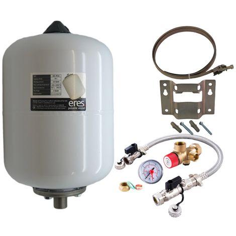 Altecnic - ERES 8 Litre Potable Expansion Vessel & Sealed System Kit ER-PV8