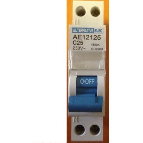 Alternative Elec AE 12125 Disjoncteur Magnéto/thermique 25A