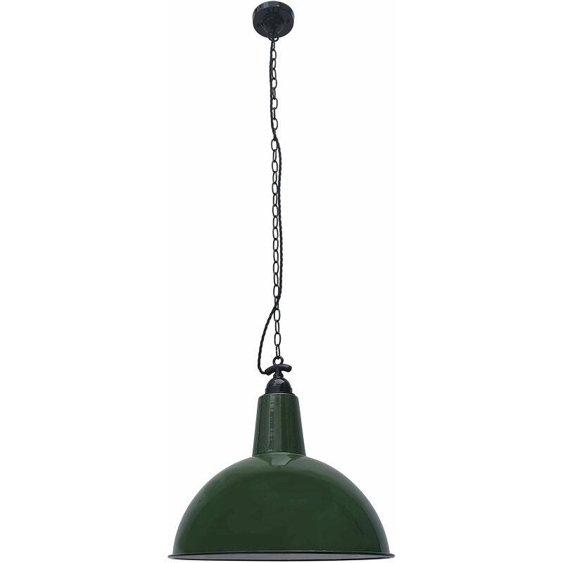 Lou 1 Glühbirne grüne Pendelleuchte - 08-FARO
