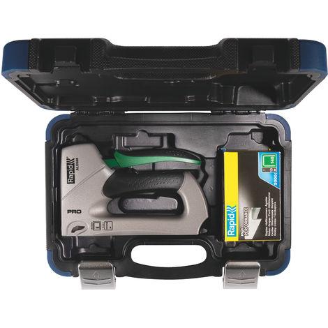ALU 840 Coffret Premium + 2000 Agrafes 140/6-14mm + 2000 Agrafes 8/15mm - RAPID