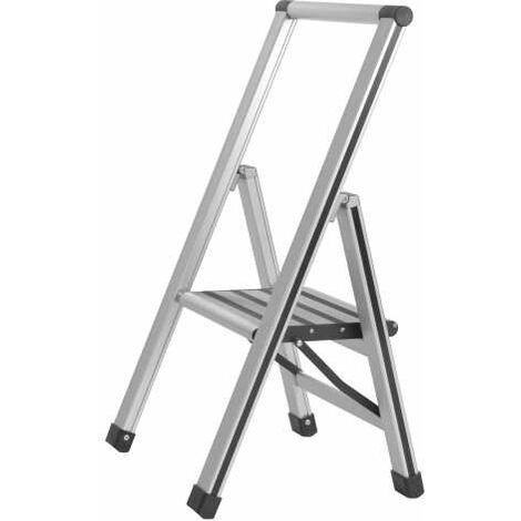 Aluminium design folding stepladder 1-step WENKO
