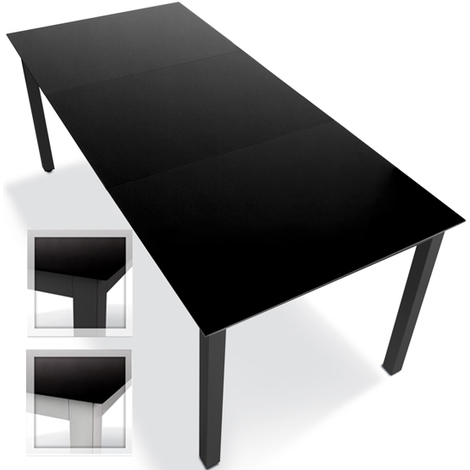 Alu Tisch Garten.Alu Gartentisch Garten Tisch 190x87cm Farbwahl