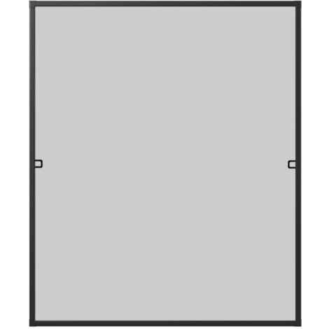 Alu Insektenschutzfenster 100x120 cm, anthrazit