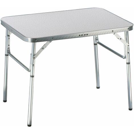 Alu Klapptisch Campingtisch 75x55x60cm Koffertisch Aluminium Tisch