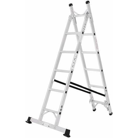 Sehr Alu Leiter Treppenleiter Universalleiter 3-Wege-Haushaltsleiter YM99