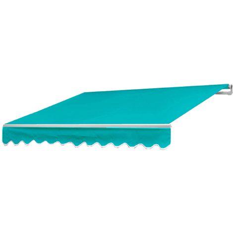 Alu-Markise HHG-954, Gelenkarmmarkise Sonnenschutz 2,5x2m