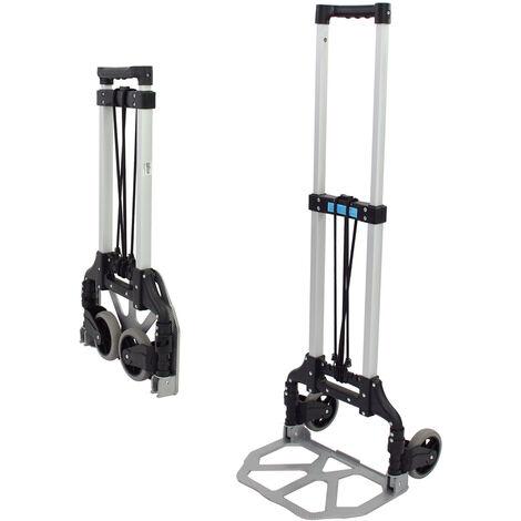 Alu Sackkarre klappbar 80 kg Transportkarre Stapelkarre Handkarre Karre leicht