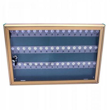 Alubox key cabinet 48 keys display case _1