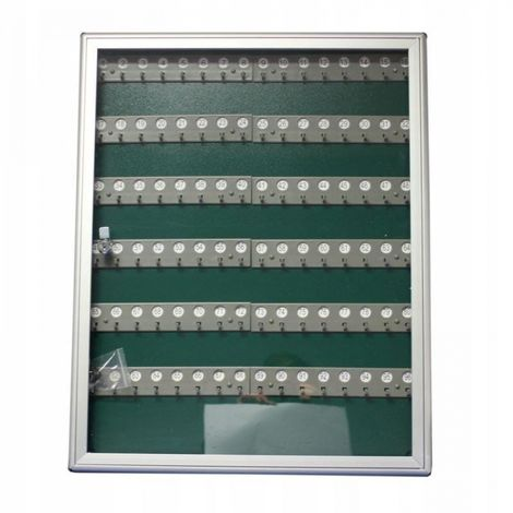 Alubox key cabinet 96 keys display case _1