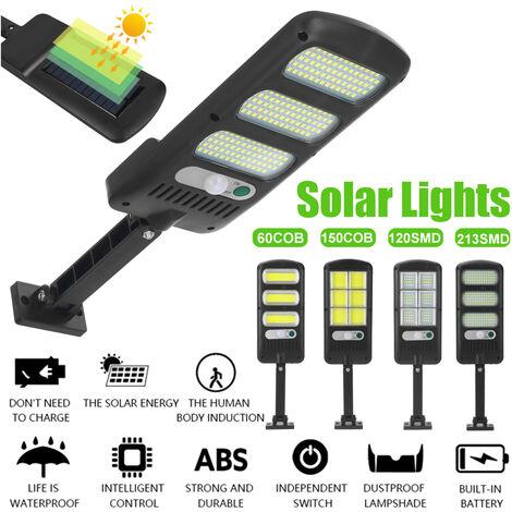 Alumbrado público solar ultrabrillante (60 COB)