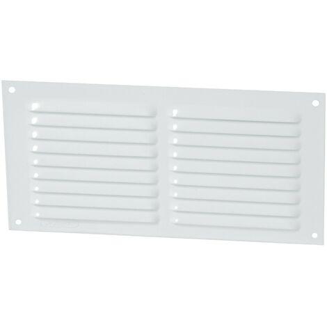 Aluminio anodizado gris con mosquitera: horizontal rectangular 10x30