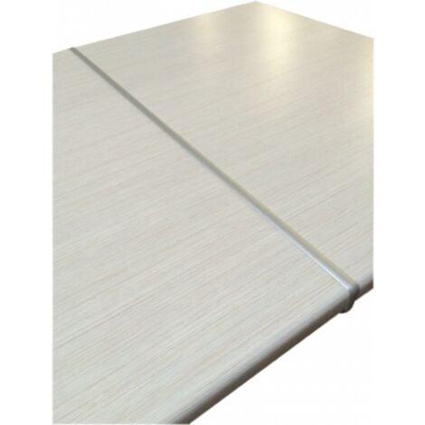 Aluminium 38 mm Arbeitsplatten Verbindungsschiene Schiene für gerade Verbindung