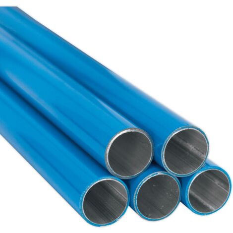 Aluminium Air Pipe ??22mm x 3m Pack of 5 (John Guest Speedfit?? - AL-RM220-3M-20B)