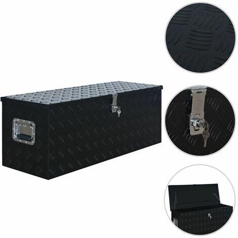Aluminium Box 1085x370x400 mm Black