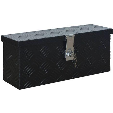 Aluminium Box 485x140x200 mm Black