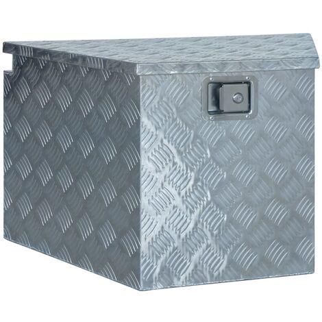 Aluminium Box 737/381x410x460 mm Silver