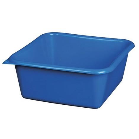 ALUMINIUM ET PLASTIQUE - Cuvette carrée - 32 cm - 8. 5 L - bleu