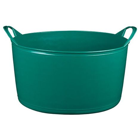 ALUMINIUM ET PLASTIQUE - Panier souple multi-usages - 15 L - vert