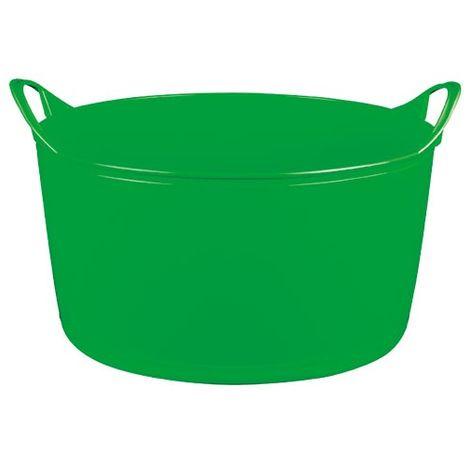 ALUMINIUM ET PLASTIQUE - Panier souple multi-usages - 15 L - vert anis