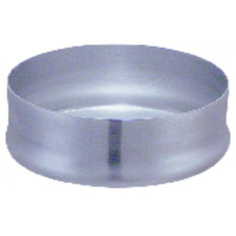 Aluminium flue shaft - Plug diameter 125mm - ISOTIP JONCOUX : 014112