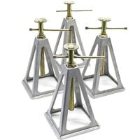 Aluminium jack stands for caravans and trailers 4 pieces Axle Stand