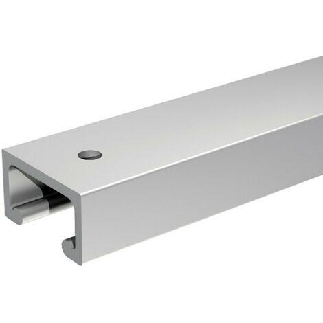 Aluminium-Laufschiene 195 cm zur Ergänzung von SLID'UP 1900 Schiebetürbeschlag
