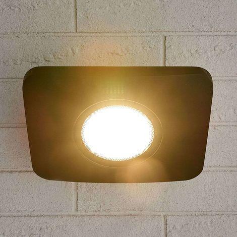 Aluminium LED outdoor wall spotlight Duke, 50W