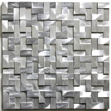 aluminium mosaic tiles kitchen ma-konik