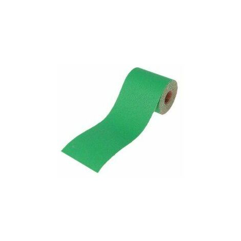 ALUMINIUM OXIDE PAPER ROLL GREEN 115 MM X 50M 40G