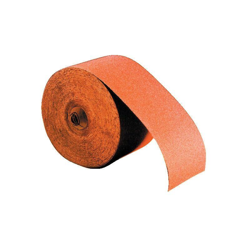 Image of Hermes Abrasifs - Hermes VC152 115MMX50M Economy Al/Ox Paper Roll P80