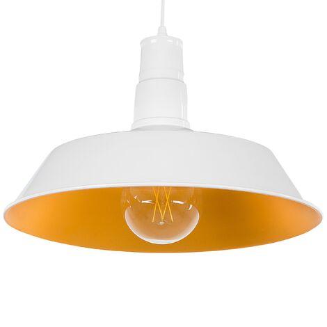 Aluminium Pendant Light White BAYOU
