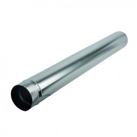 Aluminium pipe Ø111mm x 1.00m - ISOTIP JONCOUX : 011011