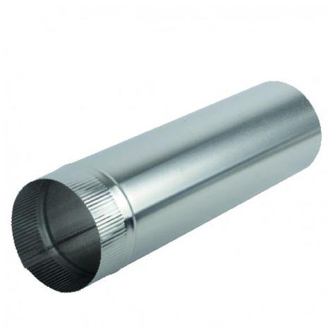 Aluminium pipe Ø139mm x 0.50m - ISOTIP JONCOUX : 011213