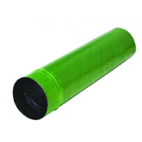 Aluminium pipe Ø139mm x 1.00m - ISOTIP JONCOUX : 011013