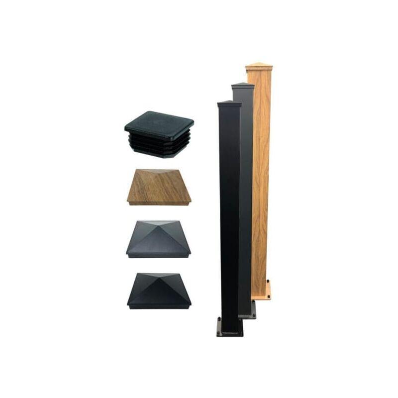 Image of Aluminium Post 150x3000mm Black