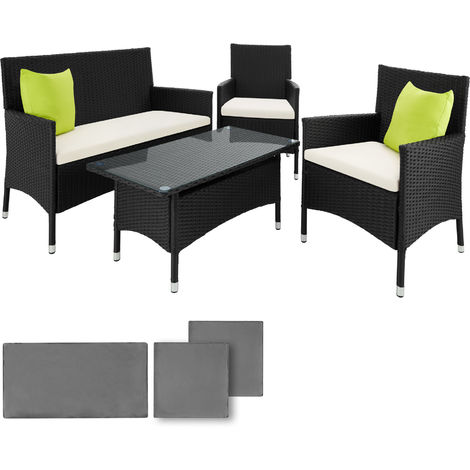 b8a70c761f8c Aluminium rattan chair suite 2 chairs + 1 bench + 1 table
