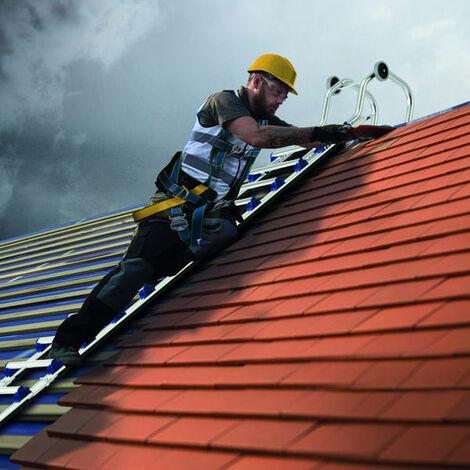 Aluminium steckbare Dachleiter mit Firstbügel - EVOKLIP (in verschiedenen Größen erhältlich)