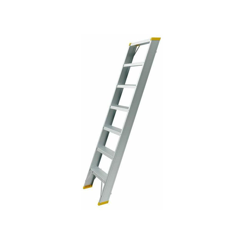Aluminium-Anlegeleiter 12 Stufen 40312