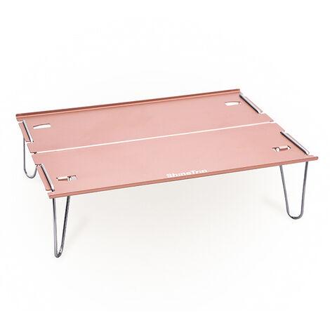 Aluminium Table Pliante Camping En Plein Air, Champagne