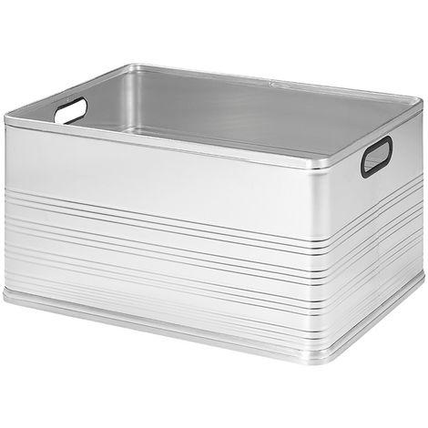Aluminium transport case 120L