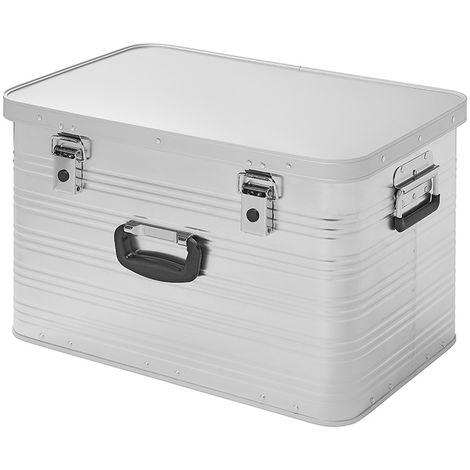 Aluminium transport case 65L