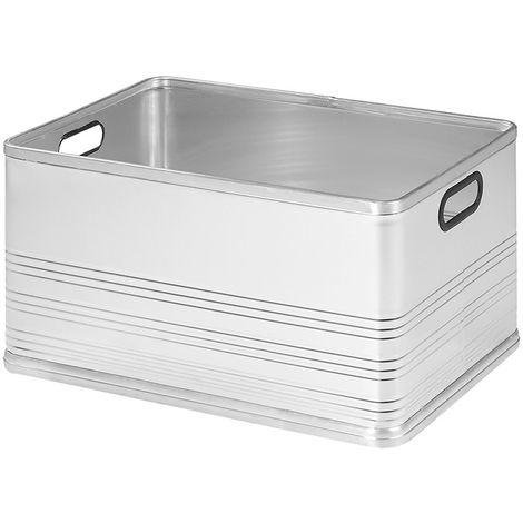 Aluminium transport case 80L