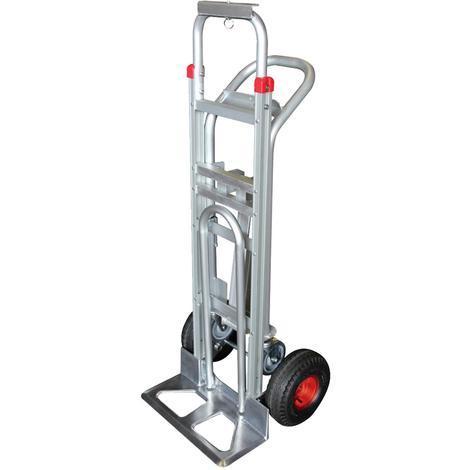 Aluminium trolley - 3 in 1 - 250-350 kg