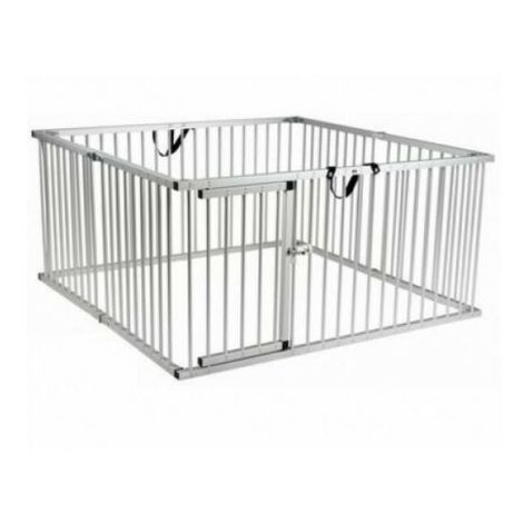 Aluminum Fence Puppies Dogs Rodents 8 x 76 cm H 63 cm