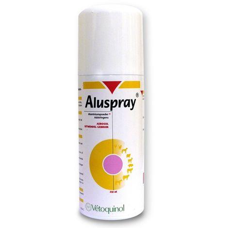Aluspray Pomada Cicatrizante en Spray para Heridas de Mascotas y Animales de Granja - 210 ml